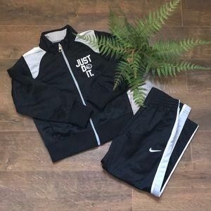 NIKE JUST DO IT Jacket + Pants Track Suit sz 4T